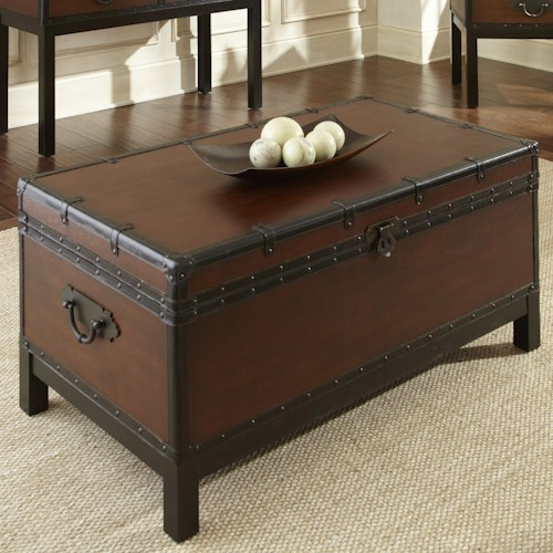 Steve Silver Voyage Trunk, occasional storage trunk