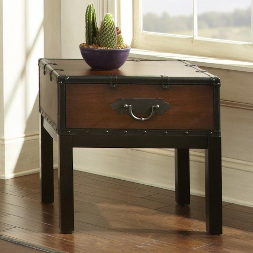 Steve Silver Voyage End Table, 1 drawer end table