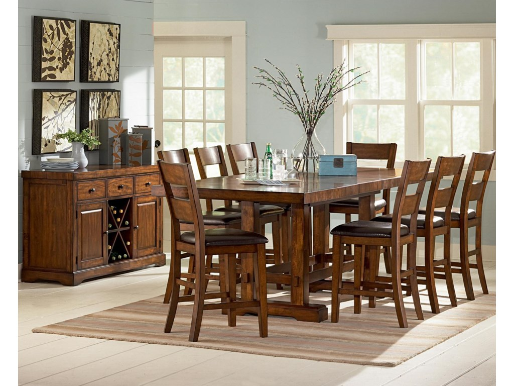 Shown with Counter Height Dining Set