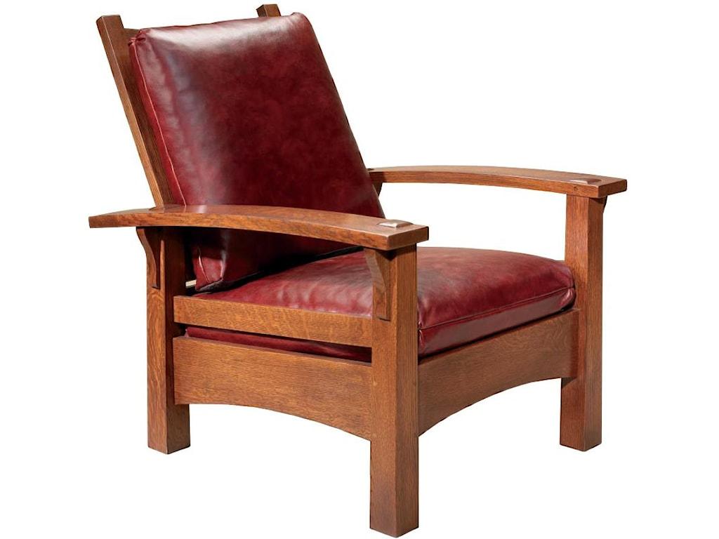 Mission Living Room Furniture Stickley Oak Mission Classics Prairie Spindle Settle