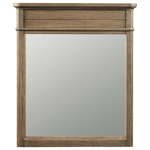 Stone & Leigh Furniture Driftwood Park Mirror