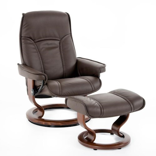 Furniture For Less Miami: Stressless By Ekornes Stressless Senator 1050415 BATICK