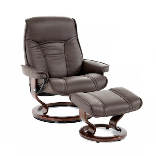 Furniture For Less Miami: Stressless By Ekornes Stressless Senator 1186415 BATICK
