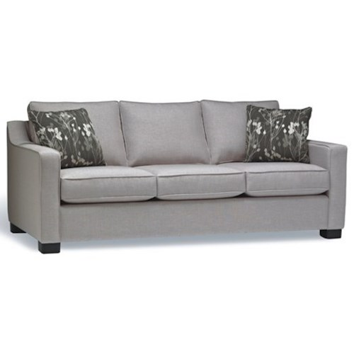 Stylus 2424 Contemporary Sofa with Casual Furniture Elegance