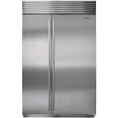 Sub-Zero Built-In Refrigerators 23.7 Cu. Ft. Counter-Depth Built-In Side-by-Side Refrigerator