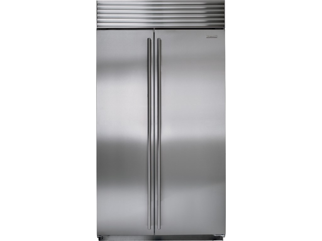Sub zero counter depth refrigerator - Sub Zero Built In Refrigeration 42 Side By Side Refrigerator