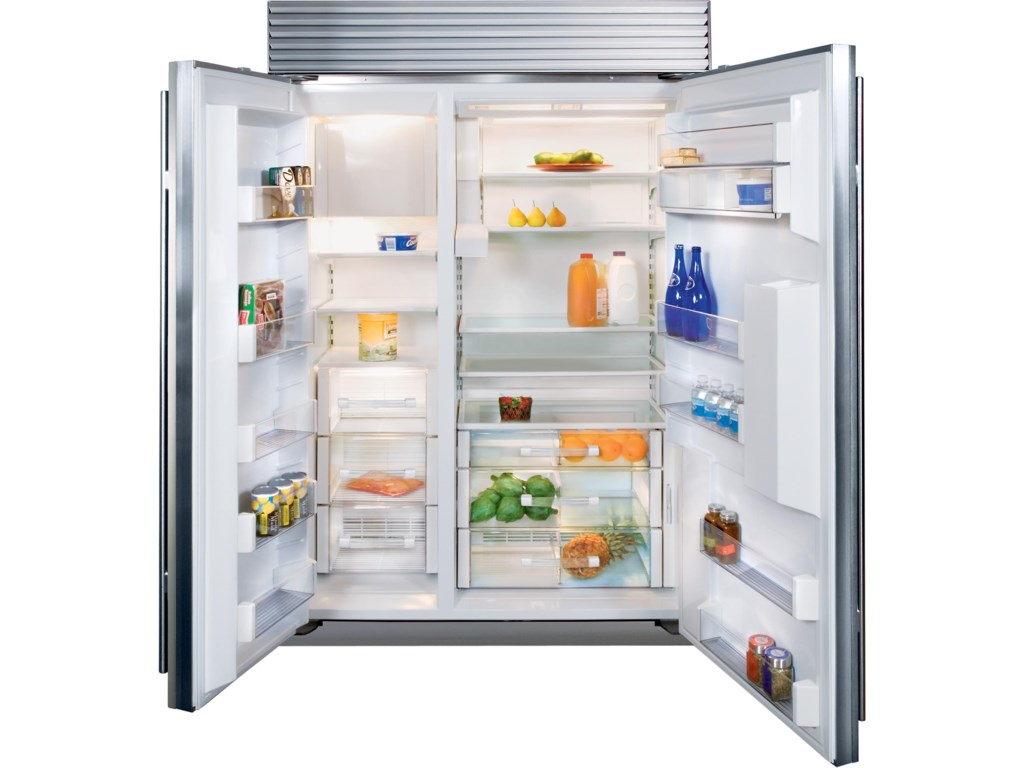 Sub zero counter depth refrigerator - 48 Side By Side Refrigerator With External Water Dispenser By Sub Zero