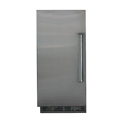 Sub-Zero Undercounter Refrigeration 25 lb Capacity Outdoor Ice Maker