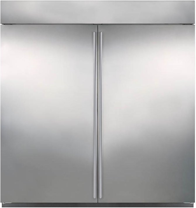 Shown in Flush Inset Application, Dual Wide Grille, and BI-36F All- Freezer