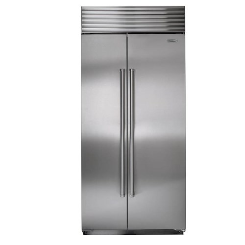 Sub-Zero Built-In Refrigerators 20.2 Cu. Ft. Built-In Side-by-Side Refrigerator with Air Purification System
