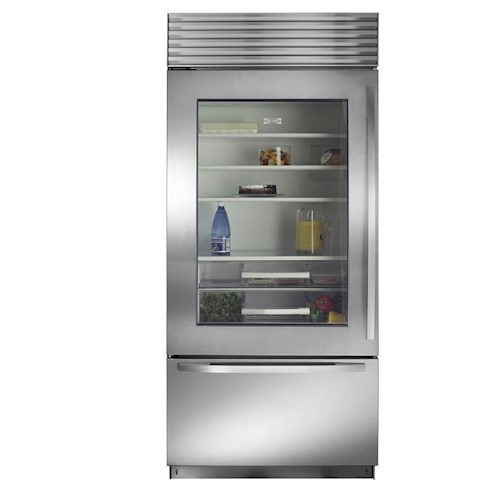 Sub-Zero Built-In Refrigerators 21.4 Cu. Ft. Built-In Refrigerator with Glass Door