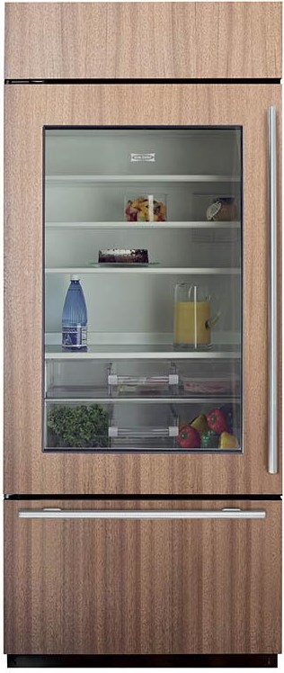Over-and-Under Design Provides Quick Access to Refrigerator and Freezer