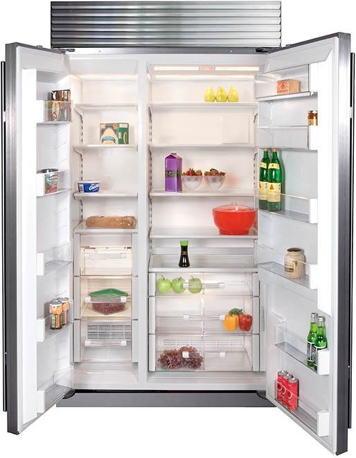Dual Refrigeration Prevents Odor Transfer Between Freezer & Refrigerator