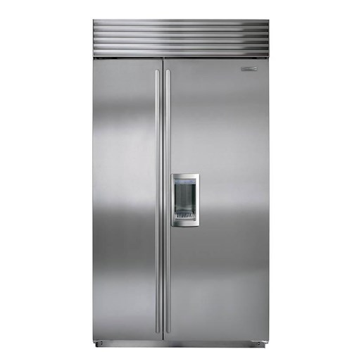 Sub-Zero Built-In Refrigerators 24 Cu. Ft. Built-In Side-by-Side Refrigerator with Dispenser