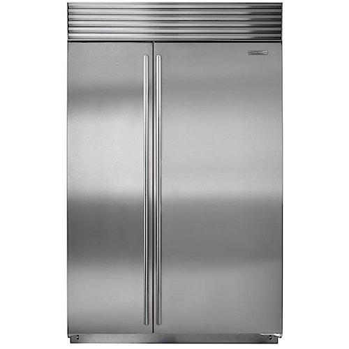 Sub-Zero Built-In Refrigerators ENERGY STAR® 28.3 Cu. Ft. Built-In Side-by-Side Refrigerator