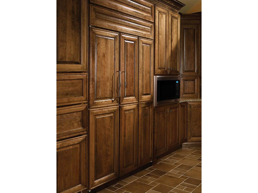 Wood Panels with an Overlay Flush Inset Application