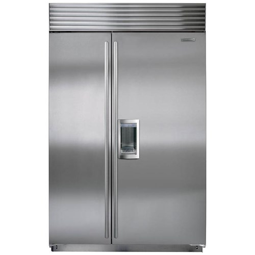 Sub-Zero Built-In Refrigerators 28.3 Cu. Ft. Built-In Side-by-Side Refrigerator with Dispenser