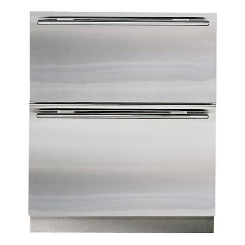 Sub-Zero Undercounter Refrigeration ENERGY STAR® 5.1 Cu. Ft. Integrated Freezer Drawers