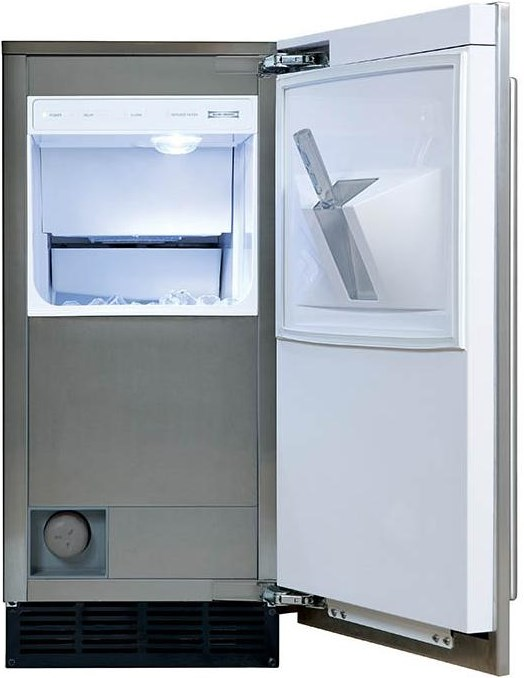 Ice Storage Capacity of up to 25 Lbs.
