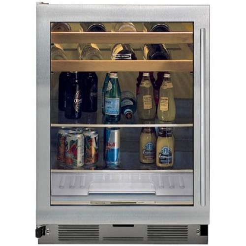 Sub-Zero Undercounter Refrigeration 5.7 Cu. Ft. Beverage Center with Glass Door