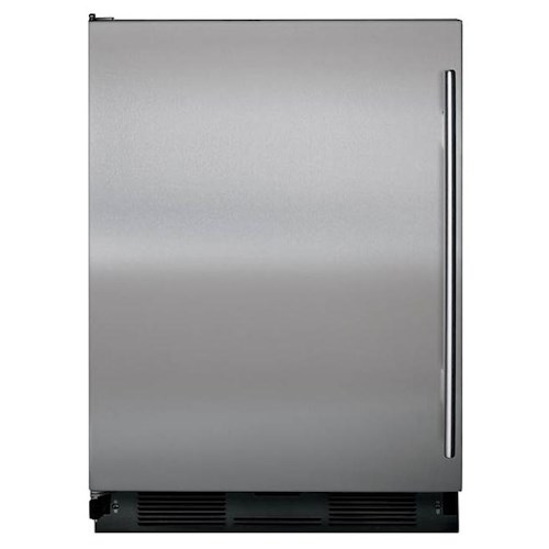 Sub-Zero Undercounter Refrigeration 4.7 Cu. Ft. Undercounter Refrigerator/Freezer with Automatic Ice Maker