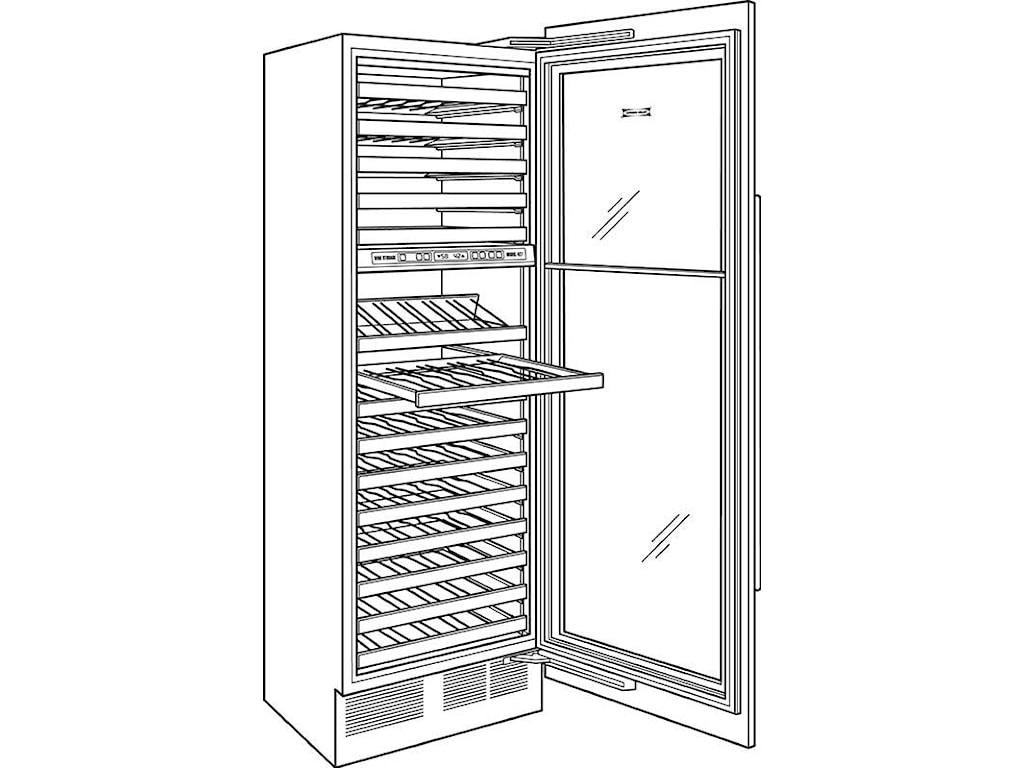 Full-Size Wine Storage