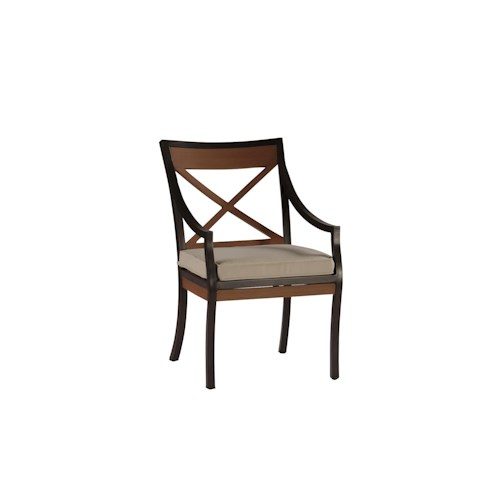 Summer Classics Belize Belize Outdoor Arm Chair