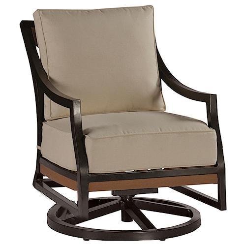 Summer Classics Belize Belize Swivel Rocking Lounge Chair
