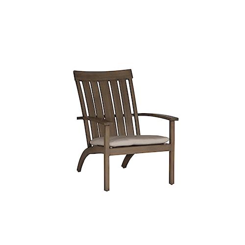 Summer Classics Club Aluminum Club Adirondack Chair