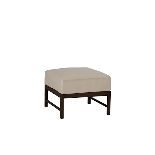 Summer Classics Club Aluminum Club Sectional Ottoman