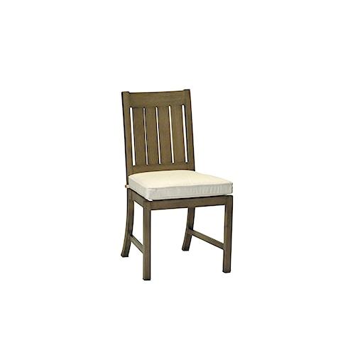 Summer Classics Club Aluminum Club Side Chair