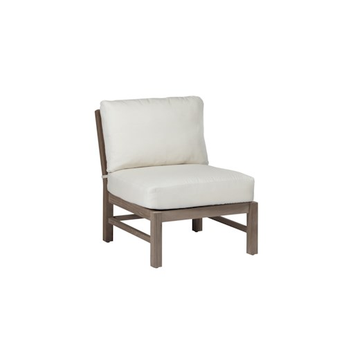 Summer Classics Club Teak Club Outdoor Slipper Chair