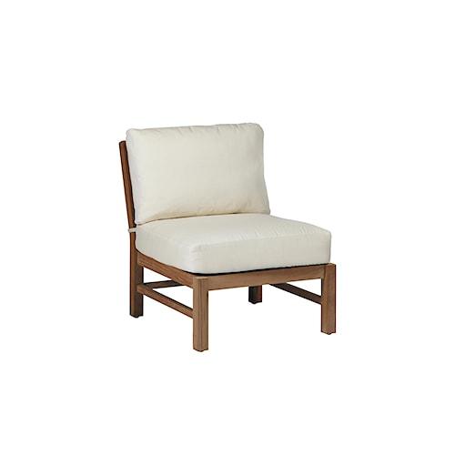 Summer Classics Club Teak Club Outdoor Slipper Chair