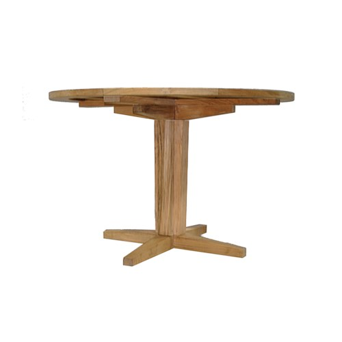 Summer Classics Club Teak Outdoor Dining Table with 36'' Round Top