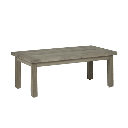 Summer Classics Club Teak Club Outdoor Coffee Table