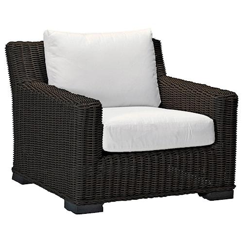 Summer Classics Rustic Rustic Lounge Arm Chair
