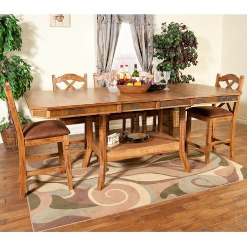 Morris Home Furnishings From Morris Home Furnishings - 5 Piece Pub Dining Set