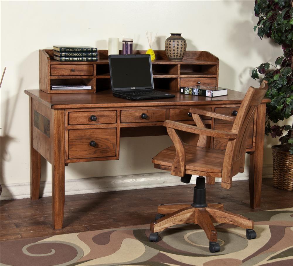 From Morris Home Furnishings Waco Writing Desk Amp Hutch
