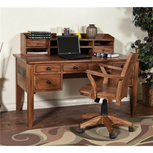 Morris Home Furnishings From Morris Home Furnishings - Waco Writing Desk & Hutch