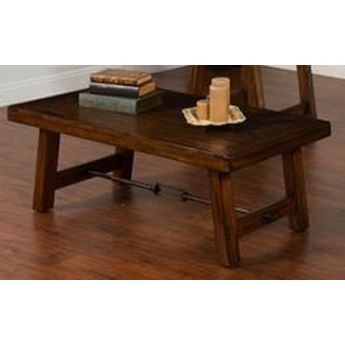 Morris Home Furnishings Acorn Valley Cocktail Table