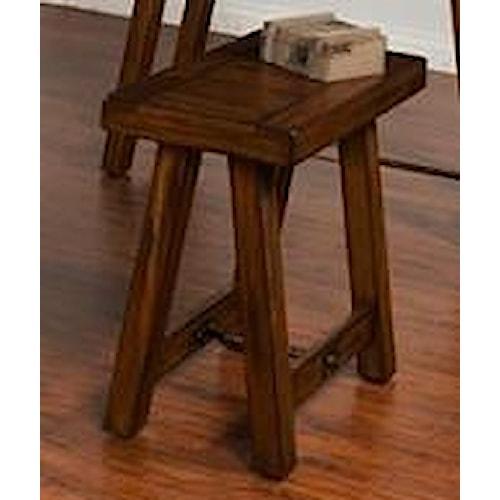Morris Home Furnishings Acorn Valley Chairside Table