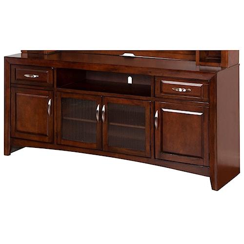 Sunny Designs Cappuccino Wide TV Cabinet Console