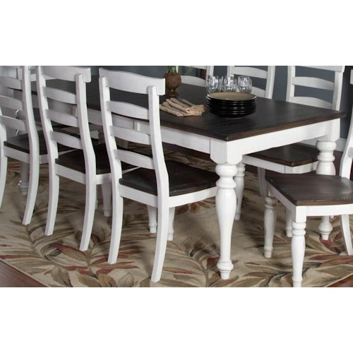 Morris Home Furnishings Fairbanks Extension Dining Table