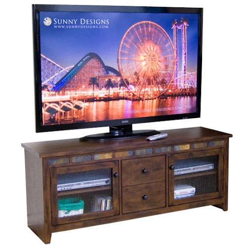 Sunny Designs Oxford 62 Inch TV Console