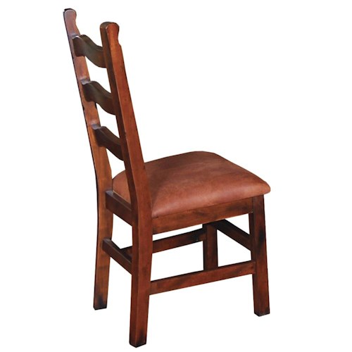 Sunny Designs Santa Fe Traditional Curved Ladderback Dining Side Chair