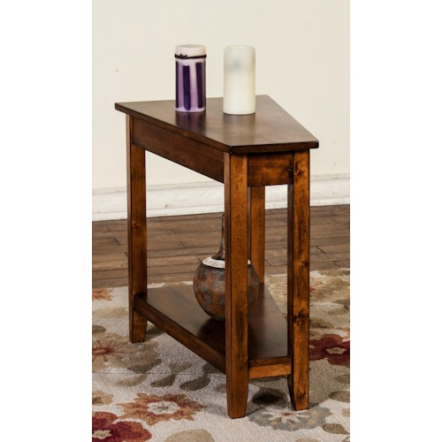 Morris Home Furnishings Inwood Place Chairside Wedge
