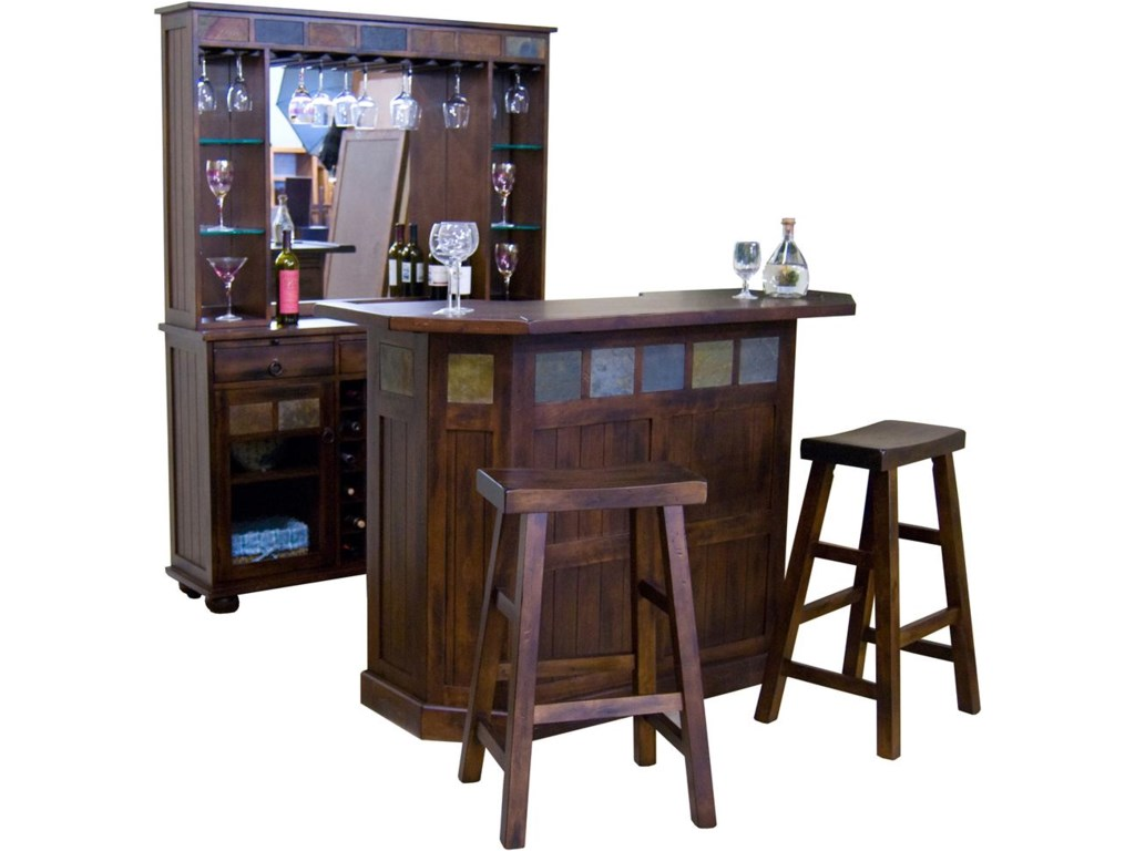 Shown with Bar Server and Stools