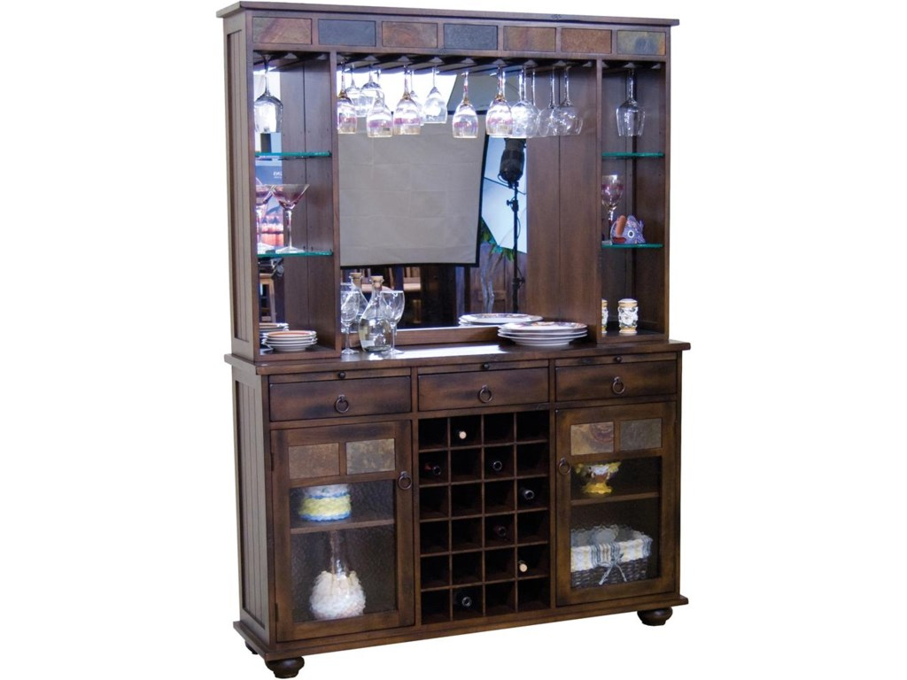 Shown with Back Bar Hutch