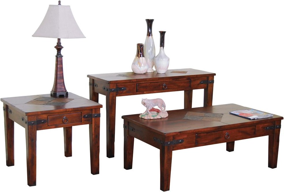 Shown with Matching End and Coffee Tables