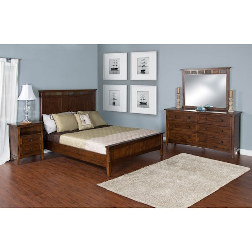 Sunny Designs Santa Fe Queen Bedroom Group